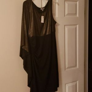 Black and gold party/special occasion dress